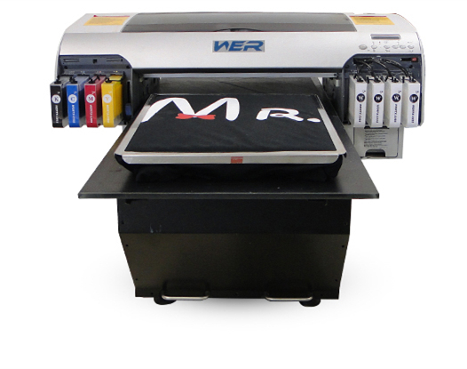 A2 Size Desktop DTG T-ko'ylak Flatbed Printer