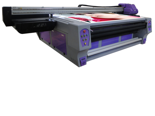 WER-ED2514UV Ko'p funktsiyali qurilma Big Format UV Ink Flatbed printer LED