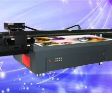 Ce Approved A2 Desktop Dual Head UV Flatbed Printer in Honduras