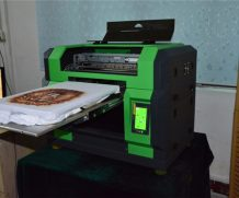 2.5 M Wide Large UV Printer with Konica 512 Head with Good Printing in Bandung