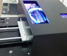 Wer 2016 New A3 LED UV Curing Printer with Auto Height Adjustment in France