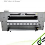 uv glass printer hybrid printer WER-ED2514UV,DX5 printheads