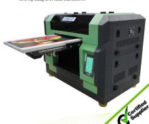 Docan PVC Vinyl UV Flatbed Printer with Roll to Roll in Brazil