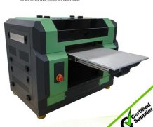 LED UV Flatbed Printer for Glass, Ceramic, Wood, Plastic, Leather, PVC Board with Factory Price in Norway
