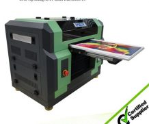 High Speed New Hot Selling A1 Dual Head UV Printer for Ceramic, Glass, Plastic in Afghanistan