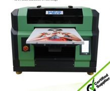 High Resolution A2 UV Flatbed Printer with 395 Nm LED UV Light in Sweden
