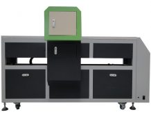Ce Approved A2 Desktop Dual Head UV Flatbed Printer in Panama