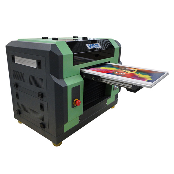 Ce Certificate A2 Double Dx5 Head Ceramic UV Flatbed Printer in Paraguay