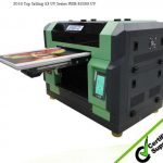 Hot selling CE approved a3 WER E2000UV mini digital uv flatbed printer ,cellphone case printing machine