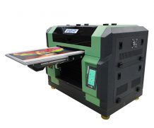 Best small format printer A4 digital uv logo printing machine for plastic