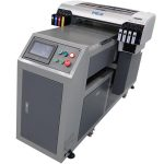 A2 double DX5 print heads white and color ink printing simultaneously uv inkjet printer