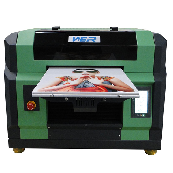 Cheap a4 uv flatbed printer, printer uv, logo printing machine and pvc id card printing