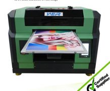 2016 Hot design A3 WER E2000UV 329 * 600 mm 8 color ,uv printing machine for pen