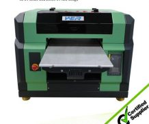 High Speed Large Size 4feet LED UV Flatbed Glass Printer in Gambia