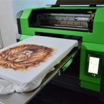 1.25m Large Format UV Flatbed Printer for Door in Algeria