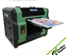 High Speed Large Size 4feet LED UV Flatbed Glass Printer in Finland