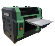 New Design A2 Size Ball Screw and Air Suction Platform UV Flated Printer in Cambodia