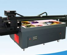 Wer-D4880UV, CE ISO Approved Flatbed UV LED Printer in Costa Rica