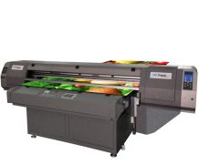 High Quality Large UV Flatbed UV Printer (3.05m*2.0m) for Glass, Metal, PVC Vinyl Printing in Atlanta