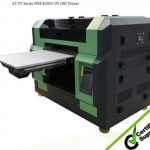 Hot selling UV flatbed inkjet printer, A3 329*600mm,WER-E2000UV, smartphone case printer