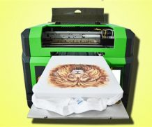 High Resolution A2 UV Flatbed Printer with 395 Nm LED UV Light in Haiti