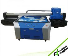 Wer 90*60cm LED UV Flatbed Printer with 280mm Printing Height in Ecuador