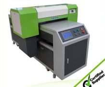 Ce Approved A2 Desktop Dual Head UV Flatbed Printer in Guinea