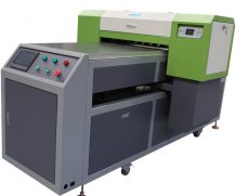 High Speed A2 Two Head Plastic UV Flatbed Printer in Netherlands