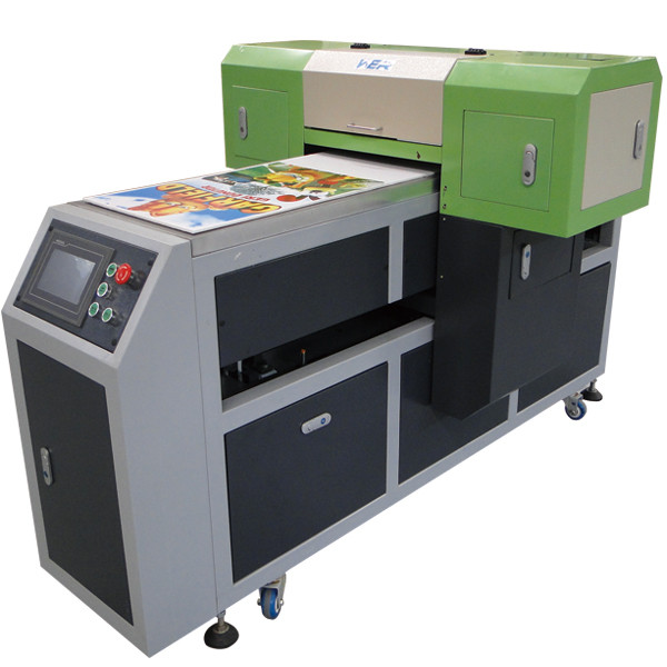 "16.54""*47.24"" A2 size led flatbed mini uv printer with 2 pieces dx5"