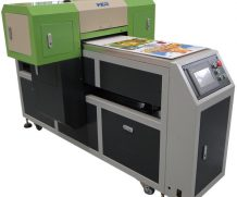 High Speed A2 Two Head Plastic UV Flatbed Printer in Oslo