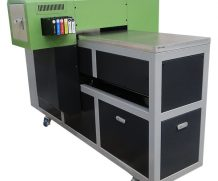 Wer 90*60cm LED UV Flatbed Printer with 280mm Printing Height in Armenia
