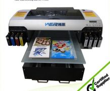 2016 Promotional A2 Size High Speed Ceramic UV Flatbed Printer in Ghana