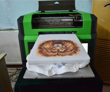 High Speed A2 Two Head Plastic UV Flatbed Printer in Johor