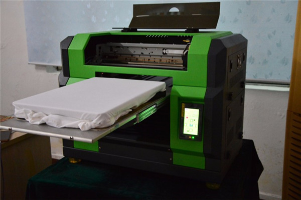 Texture printing effect flatbed mobile case printing machine