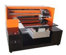 High Resolution A2 UV Flatbed Printer with 395 Nm LED UV Light in Chile