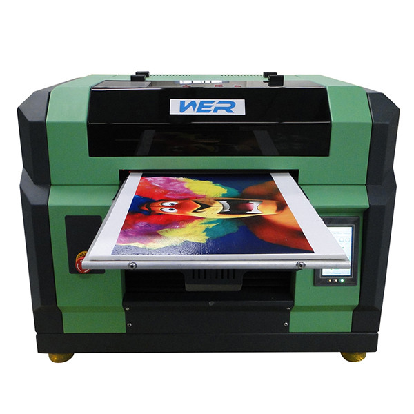 2016 new hot selling product A1 UV LED Flatbed Inkjet Printer, flatbed printer a1