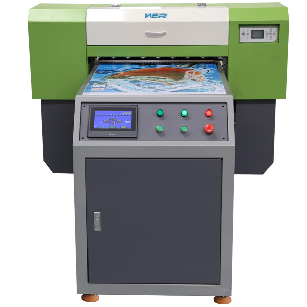 A1 Double Dx5 Head Multicolor UV Flatbed Printer in Lithuania
