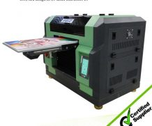Ce Approved A2 Desktop Dual Head UV Flatbed Printer in Mexico