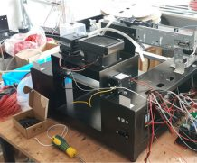 Two Piece Dx5 Head LED UV Printer for Large Ceramic in Madras