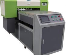 A2 size Digital UV Flatbed Printer with two Heads