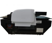 Wer 90*60cm LED UV Flatbed Printer with 280mm Printing Height in Netherlands