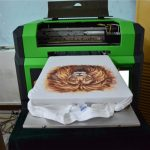 A2 size uv flatbed printer with dual head