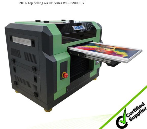 Decoration and signs industries direct printing A1 flatbed printer