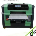 Best selling a3 329mm*600mm WER E2000UV small size A3 UV LED flatbed printer