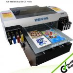 SGS Certificate A2 Small LED UV Printer for Phone Cover in Oman