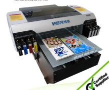 UV LED Flatbed Printer with Two Dx5 Heads for Wood and Metal in Spain