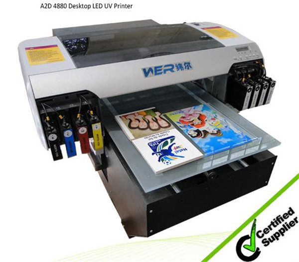 Top design A3 WER E2000UV printing bottle with 3d effect 8 color, flatbed uv printer a3