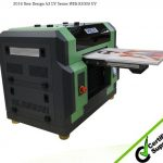 Wer-Ef2814UV CE ISO Approved Large Format UV Printer in Guatemala