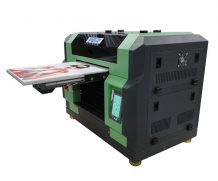 CE Certificated A2 Jet Mini LED-UV Flatbed Printer for Glass in Poland