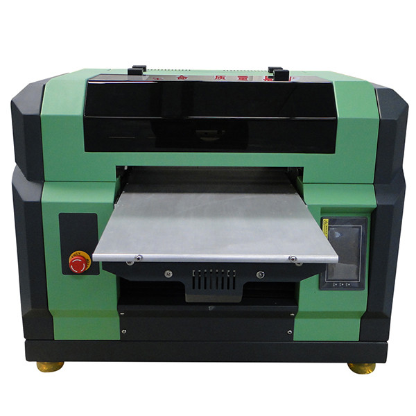 A2 double DX5 head uv flatbed printer printing 8 color uv printer